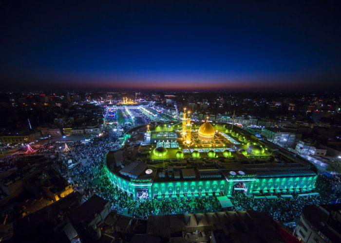 Wiladat Imam Mehdi as in Iraq | Iraq Ziarat Group 2020 - Al Sahlah