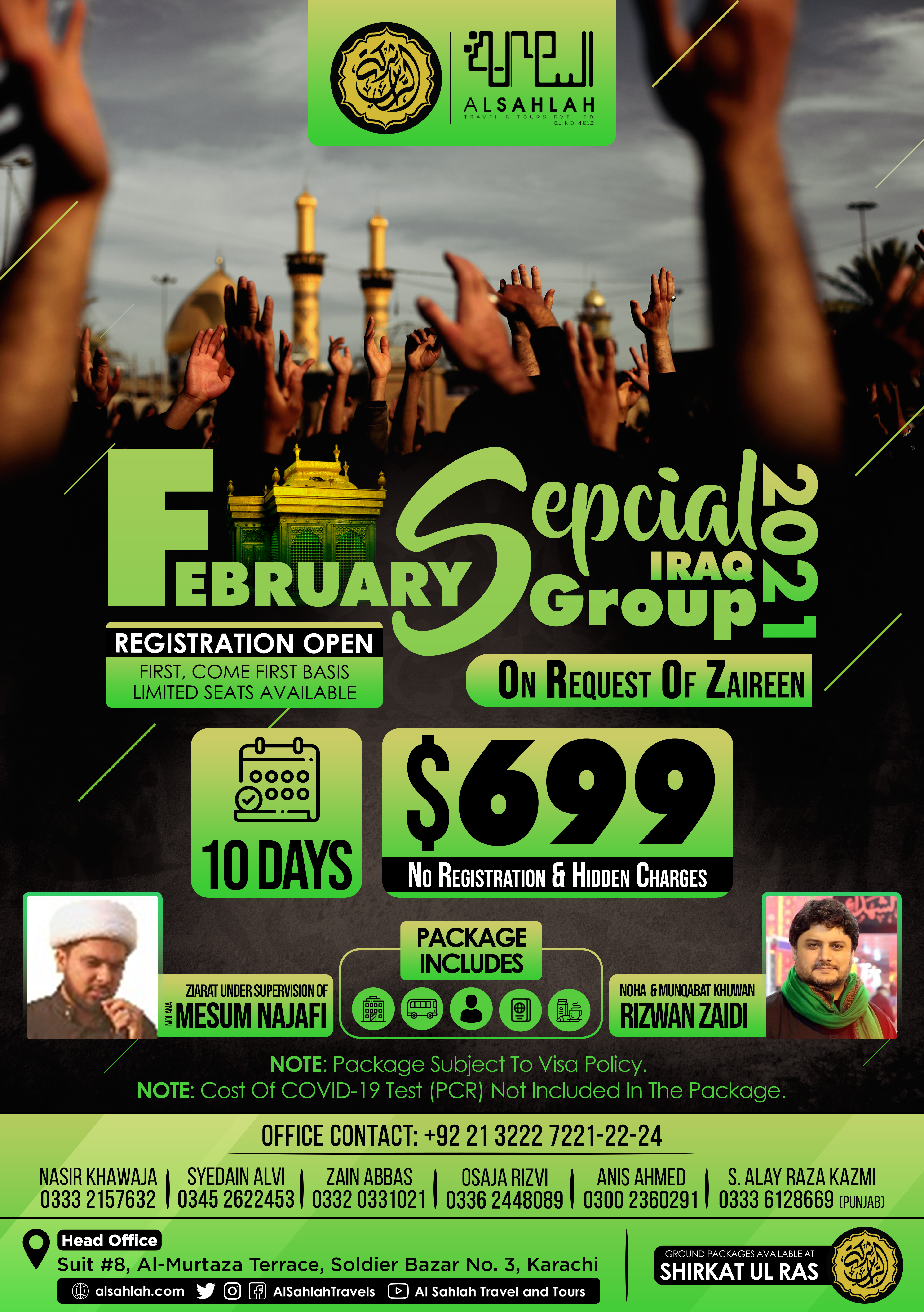 FEBRUARY SPECIAL IRAQ GROUP